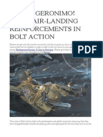 RULES- Geronimo - Bolt Action Airlanding