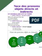 Place des pronoms objets directs et indirects.doc
