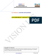 (Economic Development) Government Budgeting