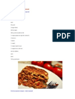 Receta Lasagne