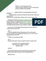 ORDIN   Nr. 21- 2004 pentru aprobarea standardelor minime obligatorii privind serviciile pentru protectia copilului de tip rezidential (1).doc
