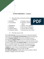 Worksheet 10A C2grd I