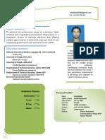 Afaq Khalid Cv Complete