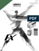 Programming Manual FX1S - FX1N - FX2N