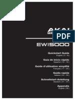 EWI5000 QuickstartGuide v1.0