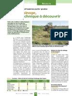 Andainage Graminées Et LuzerneBS 207 8-Fou 24-25