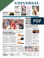 GradoCeroPress-Sabado 03 Enero 2015 Portadas Medios Nacionales