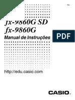 Calculadora fx-9860GSD & fx-9860G