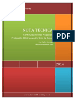 Nota Tecnica Continuidad de Los Negocios - Proteccion Electrica en Centros de Datos