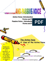 Active and Passive Voice Revised (1)