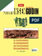 Livro a Controvérsia Do Planejamento Na Economia Brasileira 3ed
