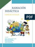 Programación Didáctica Ciencias Sociales