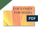 Buk1 Code of Ethics for Media