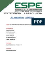 Motores de Inducción Algebra Lineal (2)