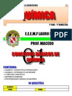 Cad 01 Unid1 - conceitos básicos de química