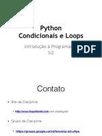 2014 04 24 Python Condicionais e Loops (1)