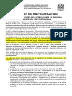 El Futuro Del Multilateralismo