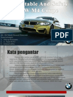 Safety and comfortable BMW M4 Coupe