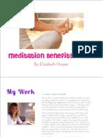 Meditație Beneficii și sfaturi utile (EN)