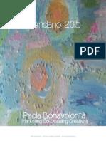 Calendario 2015  Paola Bonavolontà