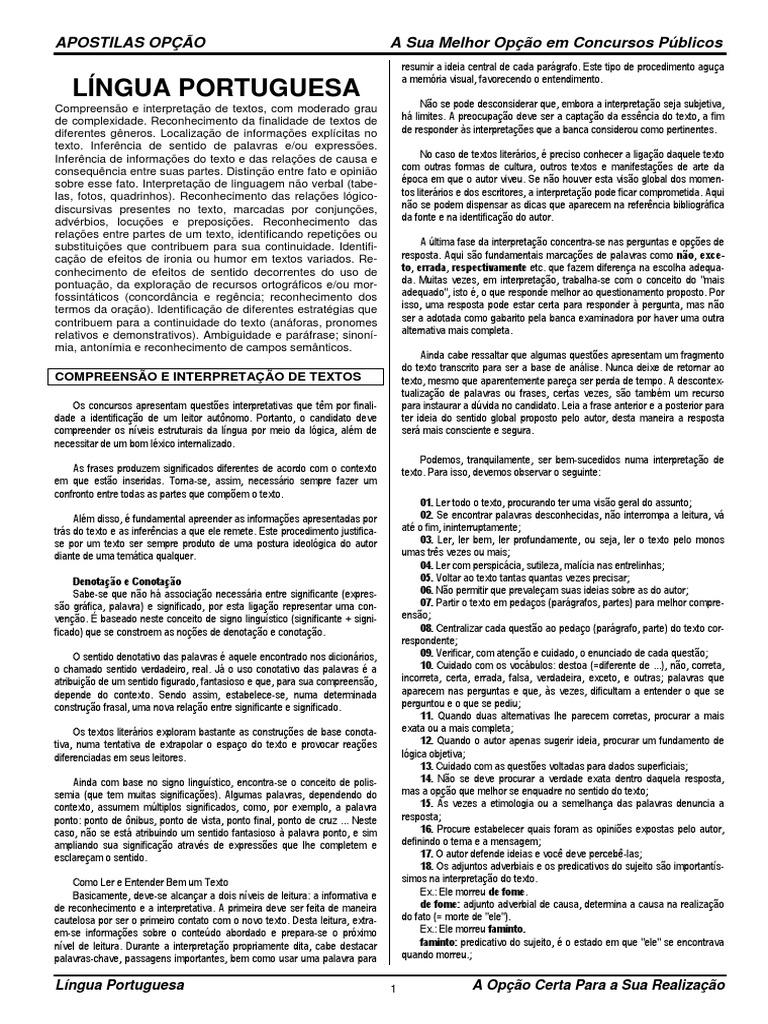 CELEPAR - Técnico Pleno - Língua Portuguesa 9fb0b1dca2