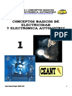 Conceptos Basicos de Electricidad y Electronica Automotriz