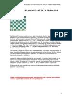 EDAMI - Defensa Francesa 3.e5