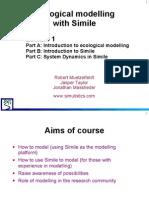 Simile Course 1