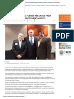 25-10-14 Gestiona Gustavo Torres Recursos Para Importantes Proyectos en Tampico - Metronoticias de Tamaulipas