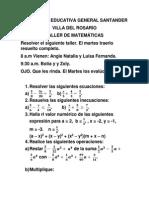 Colgesan. Taller de Matematicas 08.