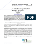 Overview of WiFi Networks Technology