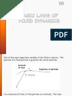 Basic Laws of Fluid Dynamics