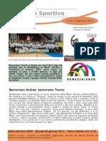 Newsletter 16 - 12 Gennaio 2010