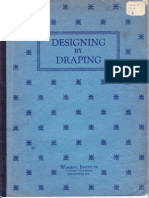 Designing by Draping - 1936