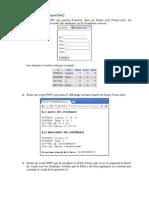 Exercice XML PHP5