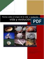 Teorías sobre el origen de la vida  y evolución
