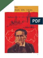 Rusia en 1931 Reflexiones Al Pie Del Kremlin