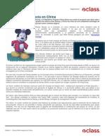 Disney World Negocia en China