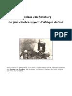 Van Rensburg Nicolaas - Le Plus Célèbre Voyant d'Afrique Du Sud