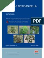 Plantas Toxicas de La Pcia de Corrientes Inta Mdes