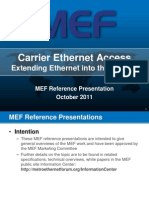 Carrier Ethernet Access Reference Presentation