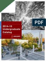 2014 2015 Undergraduate