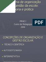 O Sistema de Organização e de Gestão Da Escola 2º Pedagogia