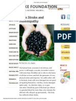 Brain Stroke and Homeopathy