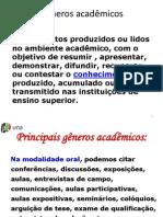 Generos Academicos Apres. Ppt