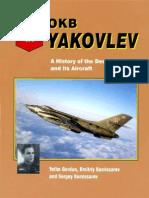 Aerofax OKB Yakovlev