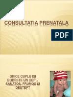 consultatia prenatala