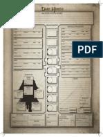 Dark Heresy Character Sheet