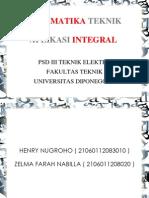 10. Aplikasi Integral
