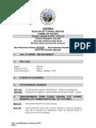 Agenda Regular City Council 01-06-15